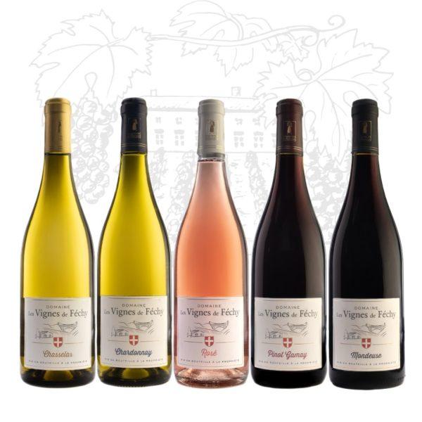 coffret de vins de Savoie découverte