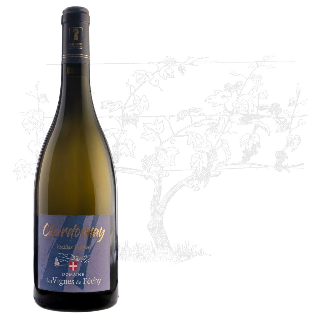 vins de Savoie, vin de Savoie, Chardonnay vieilles vignes vin blanc de Savoie, Domaine les Vignes de Fechy, vins de Féchy, vins de Cruseilles, Cruseilles, Annecy, Genève, Haute Savoie
