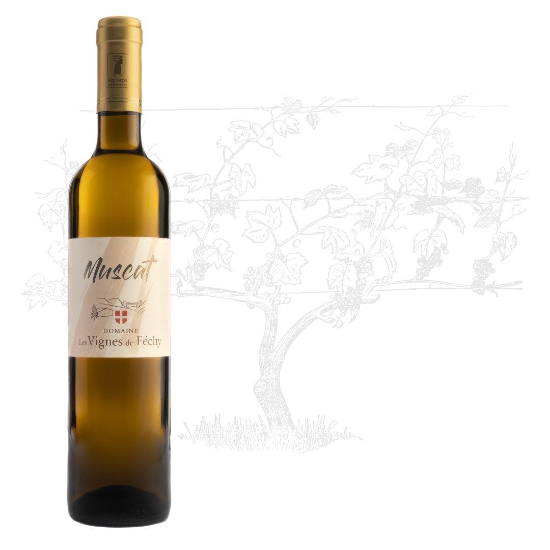 vins de Savoie, vin de Savoie, Muscat vin de Savoie, Domaine les Vignes de Fechy, vins de Féchy, vins de Cruseilles, Cruseilles, Annecy, Genève, Haute Savoie